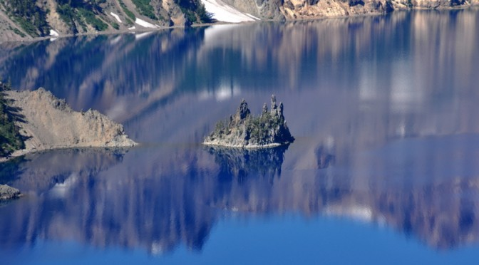Crater Lake Pirate Ship
